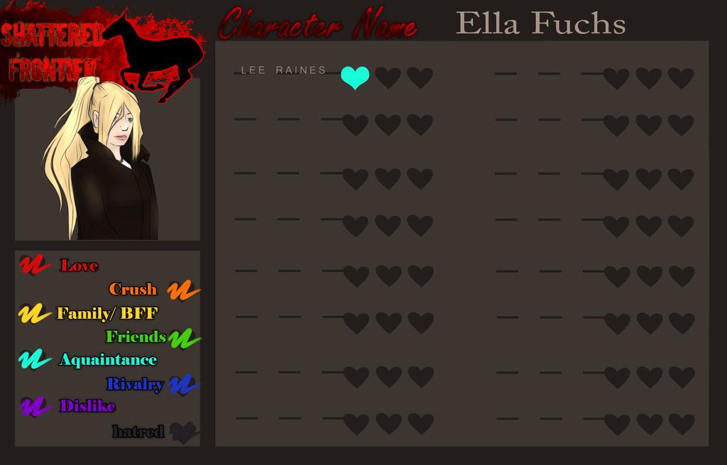 ELLA FUCHS | RELATIONSHIP TRACKER by Lemonegrass