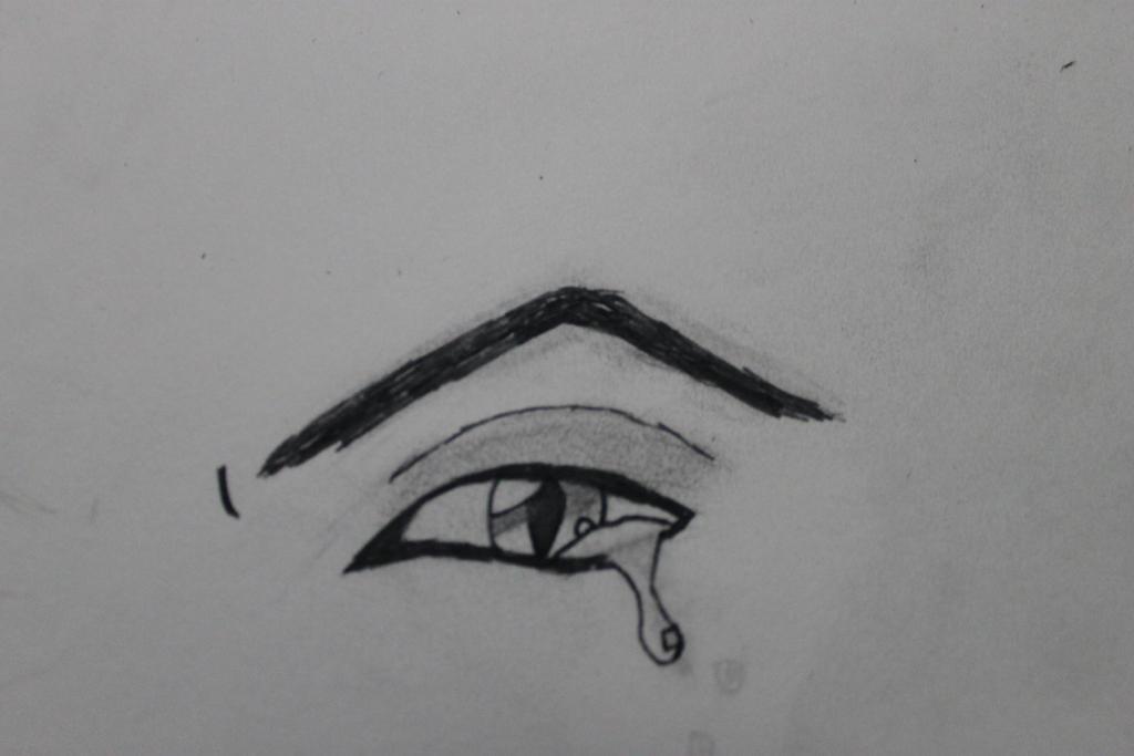 Cat Pupil Eye Crying By SaekoGami