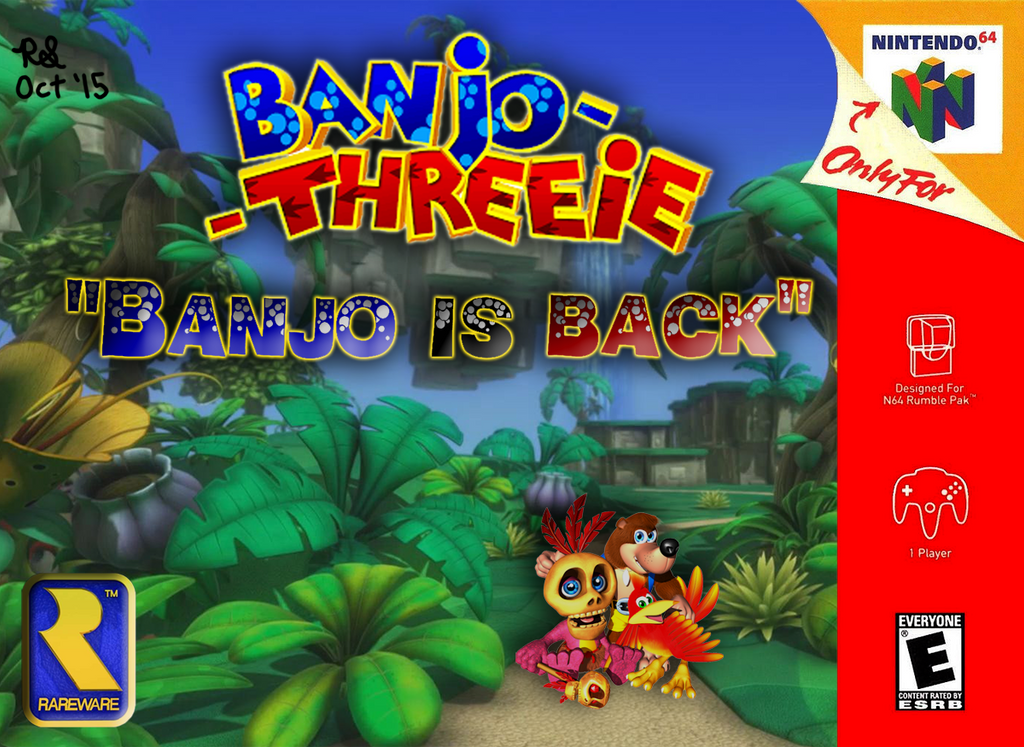 Banjo-Threeie Cover Art (Fan-Made) by Sotolefish on DeviantArt