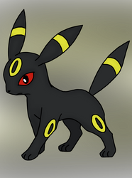 Umbreon Drawing by MrSouthBay