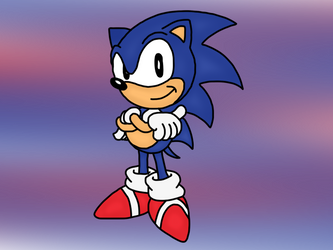 Sonic Drawing by MrSouthBay