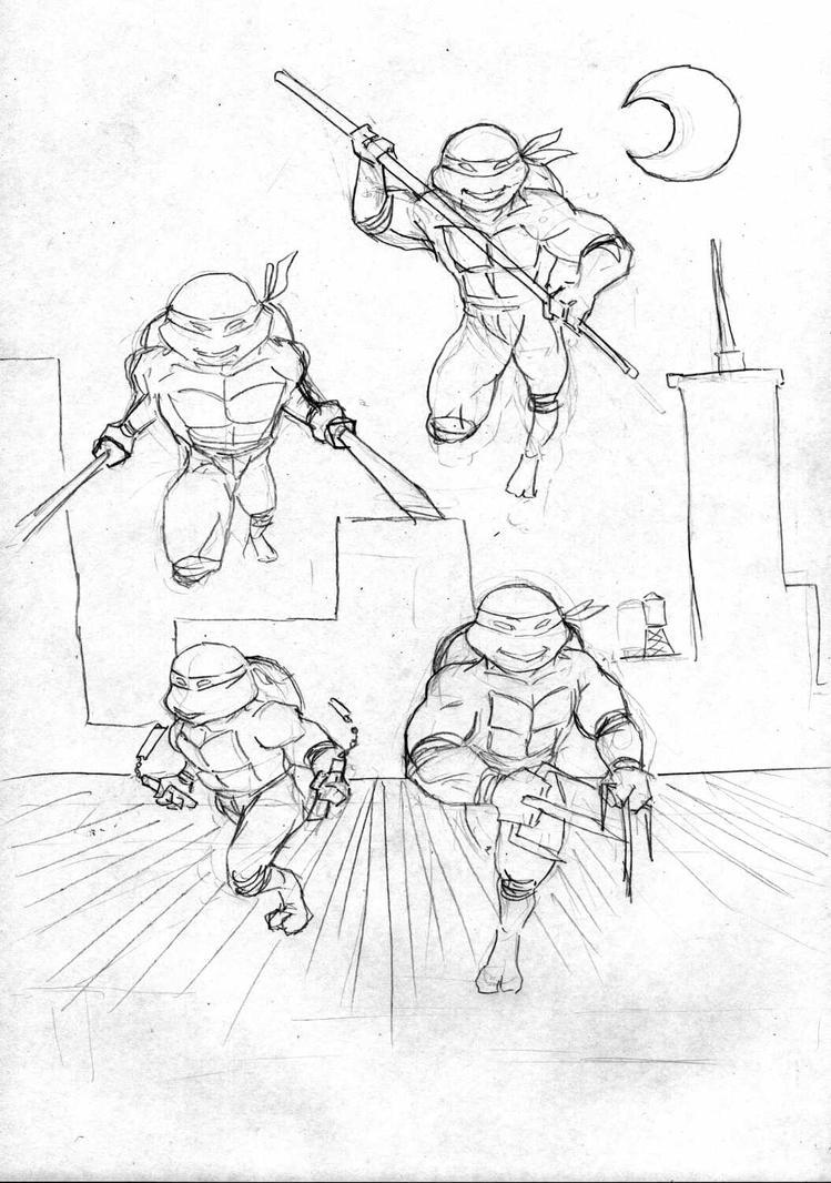 Teenage Mutant Ninja Turtles by pixelpusher24