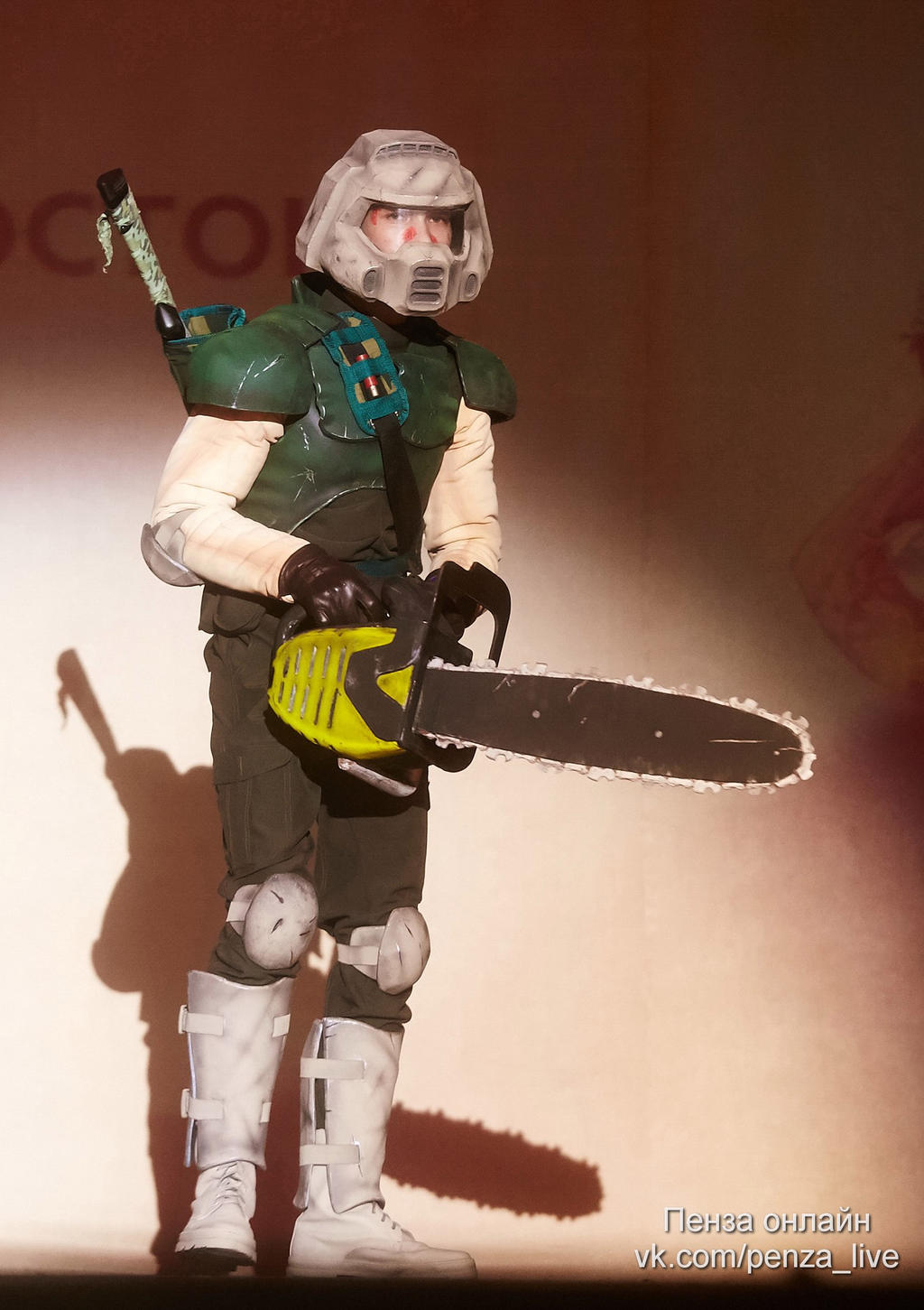 Doom Marine Costume By Beketov On DeviantArt