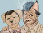 the furry odd couple