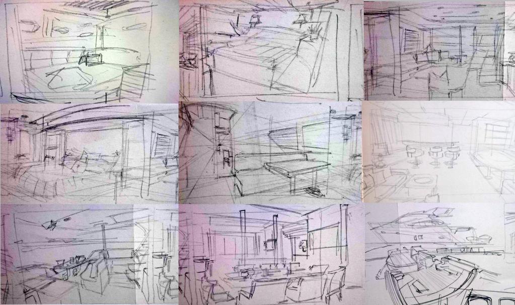yacht sketch by mistibasnapi