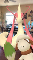 Milotic and the photobomb.