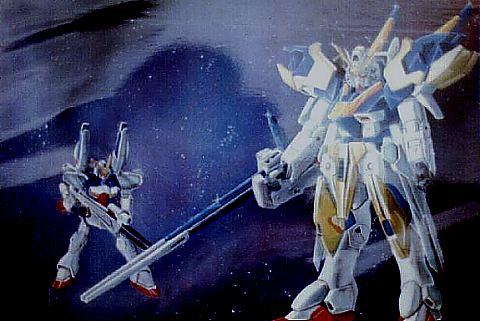 Gundam Plate by ShinBattosai