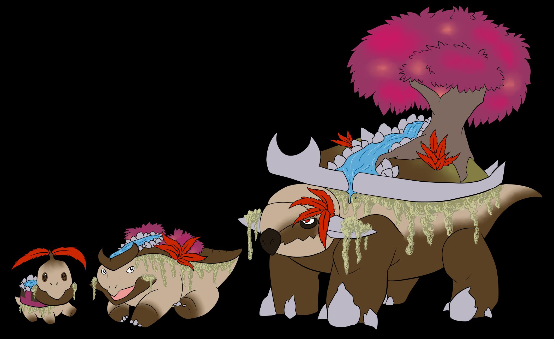 Pokemon Female Torterra Images | Pokemon Images