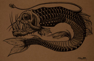 Sloane's Viper Fish by William-J-McVey