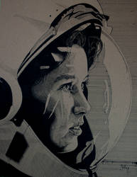 Anna Lee Fisher by William-J-McVey
