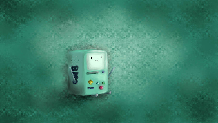 Bmo adventure time wallpaper by ikarwowski on deviantart bmo adventure time wallpaper by ikarwowski thecheapjerseys Images