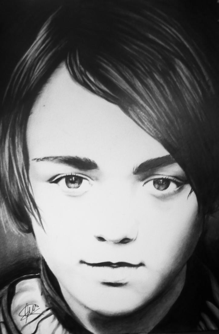Arya Stark by LeonorBohme