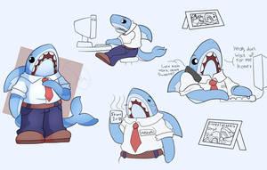 Character Sheet - Office Shark - Walden S.