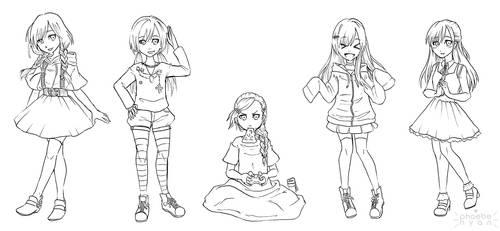 ootd sketches