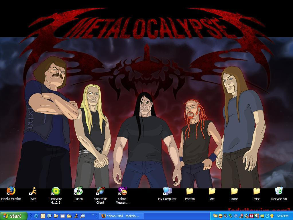 DETHKLOK DETHTOP by sporkpirate