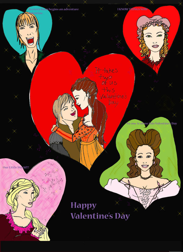 Schön Into The Woods Valentines By Selinelle ...