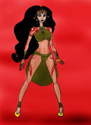 Disney Princess Dejah Thoris doll by Selinelle