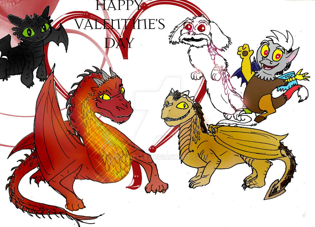 Toddler dragons valentine by selinelle on deviantart toddler dragons valentine by selinelle ccuart Choice Image