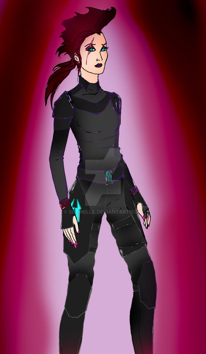 Mlp Humanized Tempest Shadow By Selinelle On Deviantart