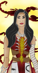 Inanna of Akkad by Selinelle