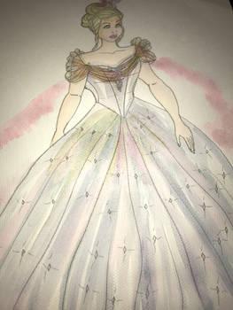 ALW Cinderella in her ballgown