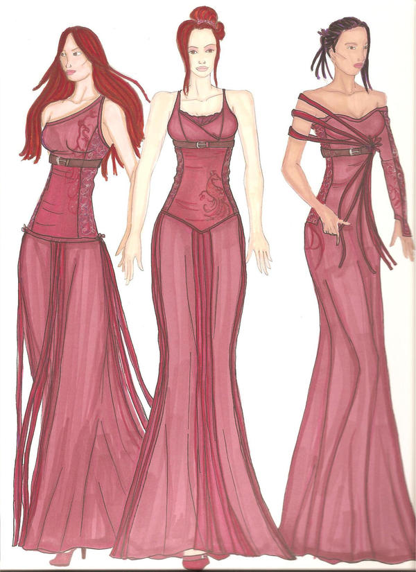 Phoenix gowns by Selinelle