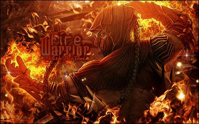 Fire Warrior by BoiUchiha
