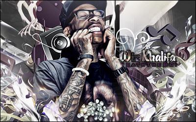 Wiz Khalifa by BoiUchiha