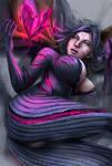 Kaisa Goodnight in the void by pezapassionatedep