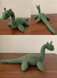 Loch Ness Monster Amigurumi Plush