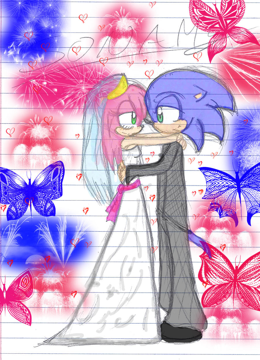 The OLD Sonic the Hedgehog Topic - Discuss ScratchAmy And Sonic Wedding