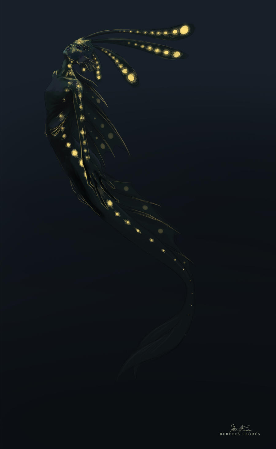 Deep sea mermaid by Artylay on DeviantArt