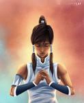 Avatar Korra by Artylay