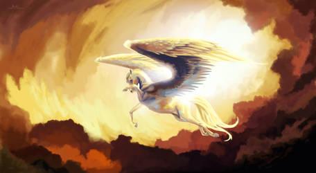 Pegasus by Artylay