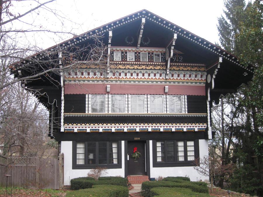 Swiss chalet house by origin21 on deviantart - Chalet architectuur ...