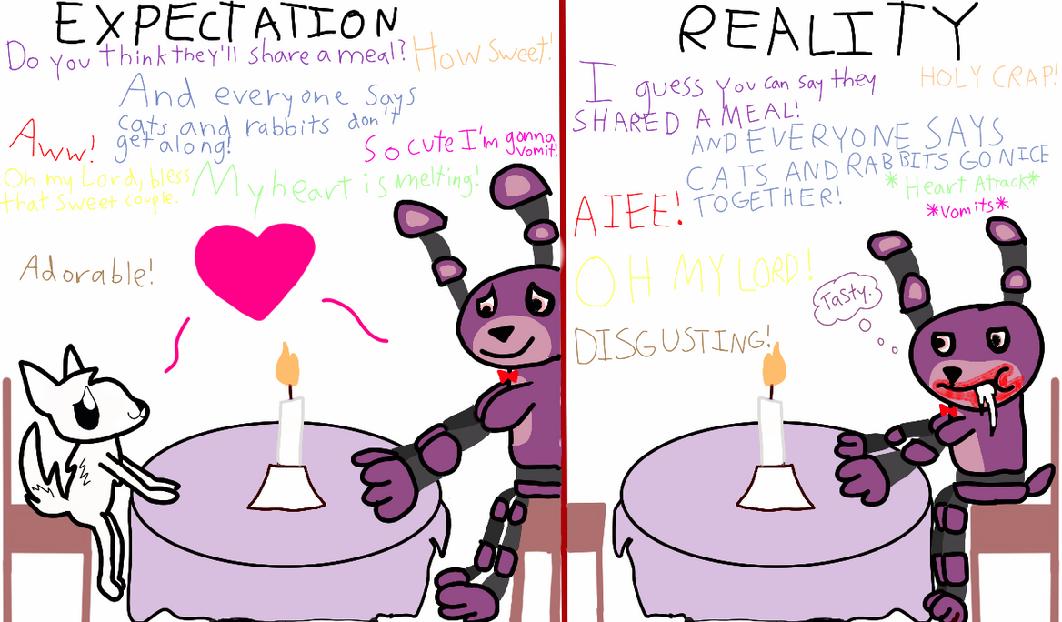 Online dating expectations vs reality