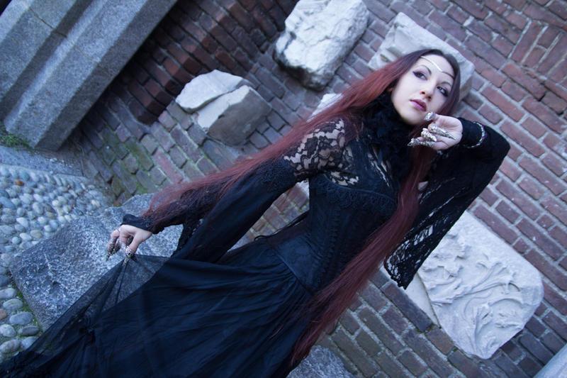 Stock Fantasy/goth 12 by Blunastock