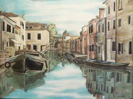Entering Venice by ahuen333