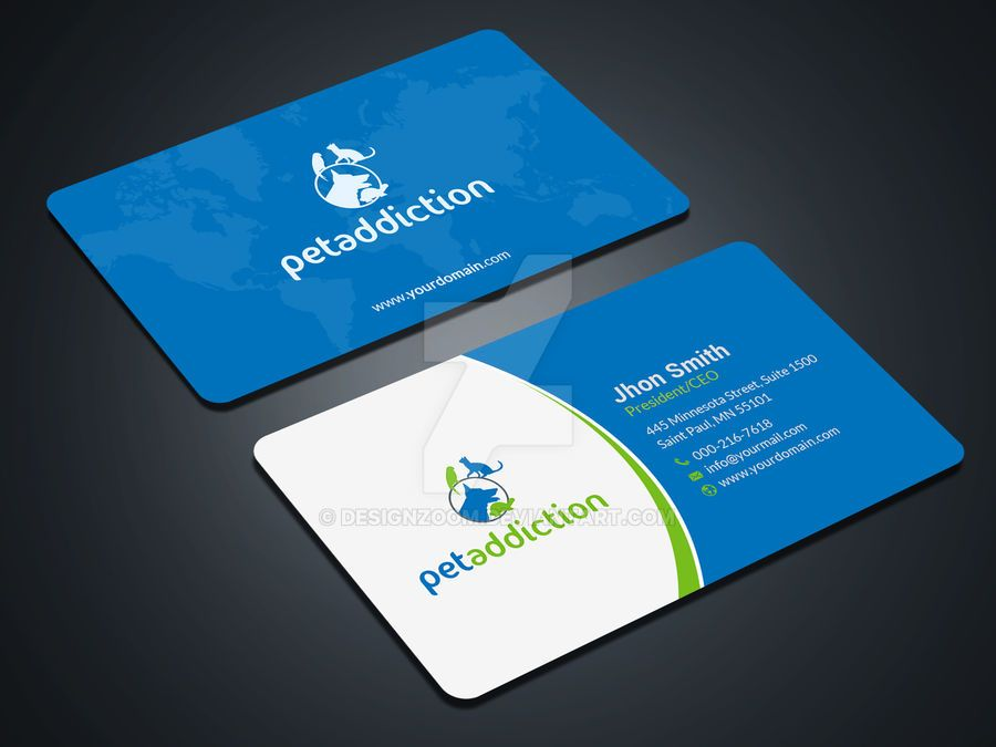 Professional Business Card by DesignZoom on DeviantArt
