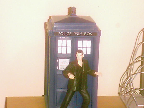 The Ninth Doctor Action Figure by Lonzo1