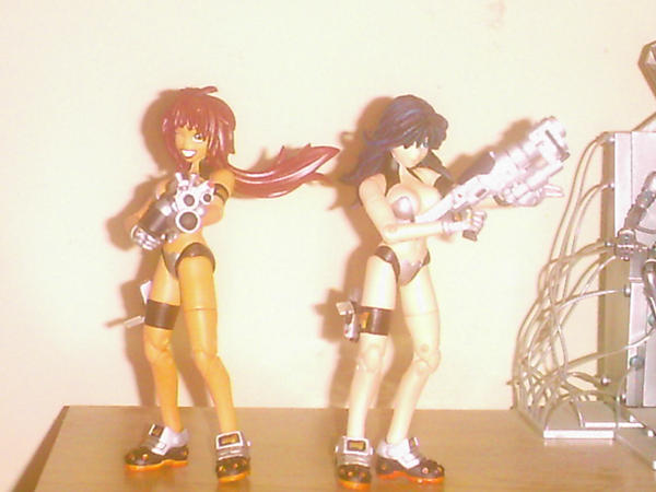 The Dirty Pair by Lonzo1