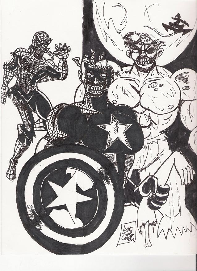 Marvel Zombies by Lonzo1