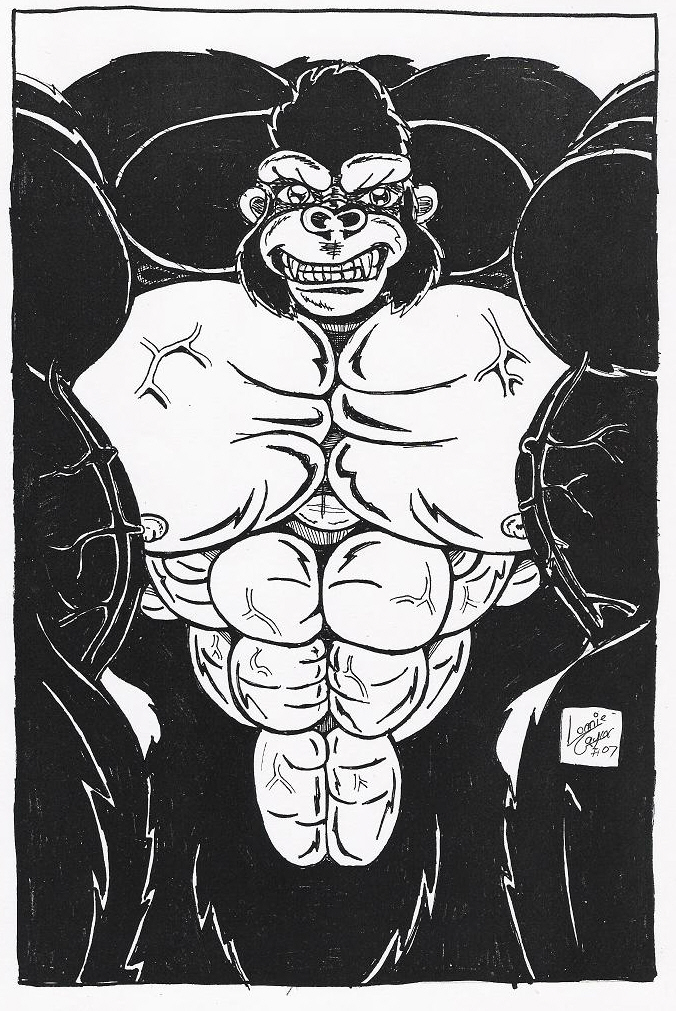 Gomez The Monster Ape by Lonzo1