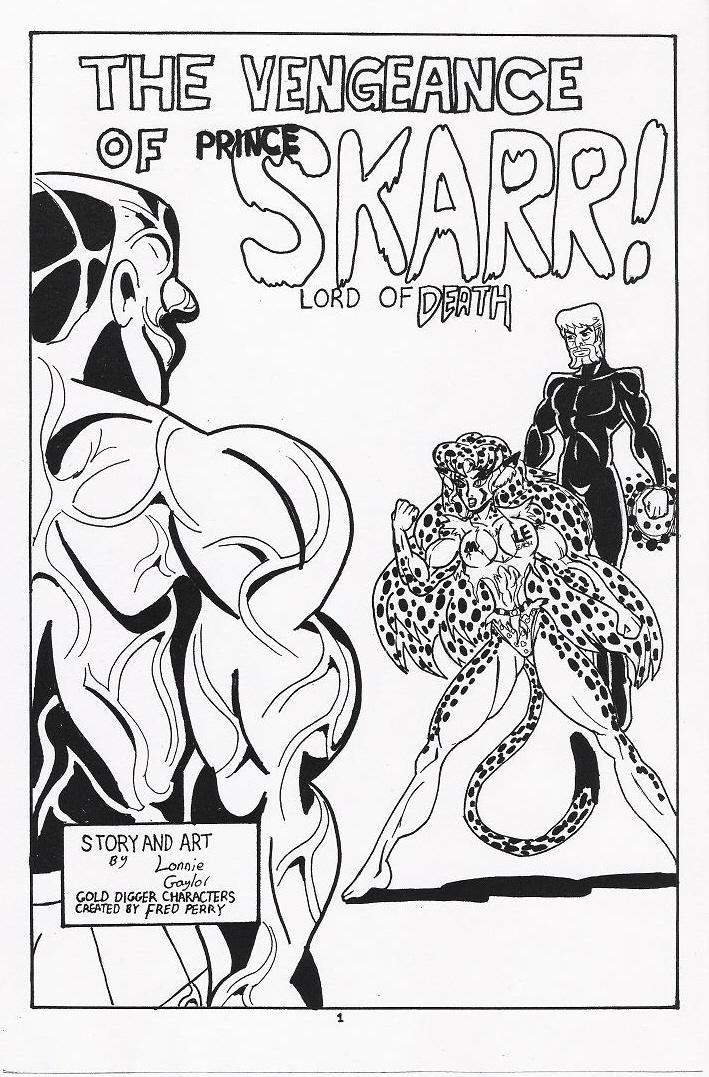GD Fan Comic Splash Page by Lonzo1