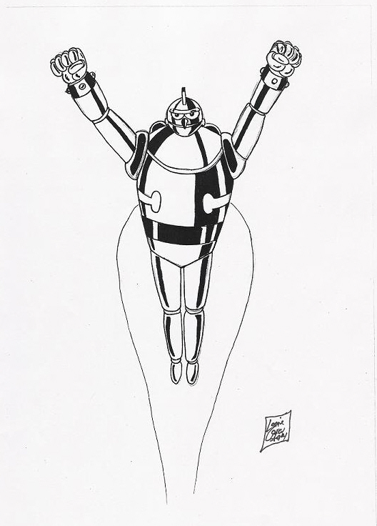 Gigantor:A Space-Age Robot by Lonzo1