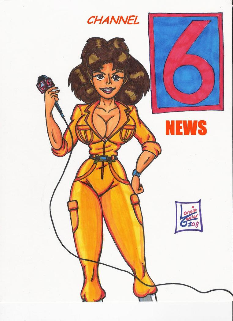 Cartoon Icons:April O' Neil by Lonzo1