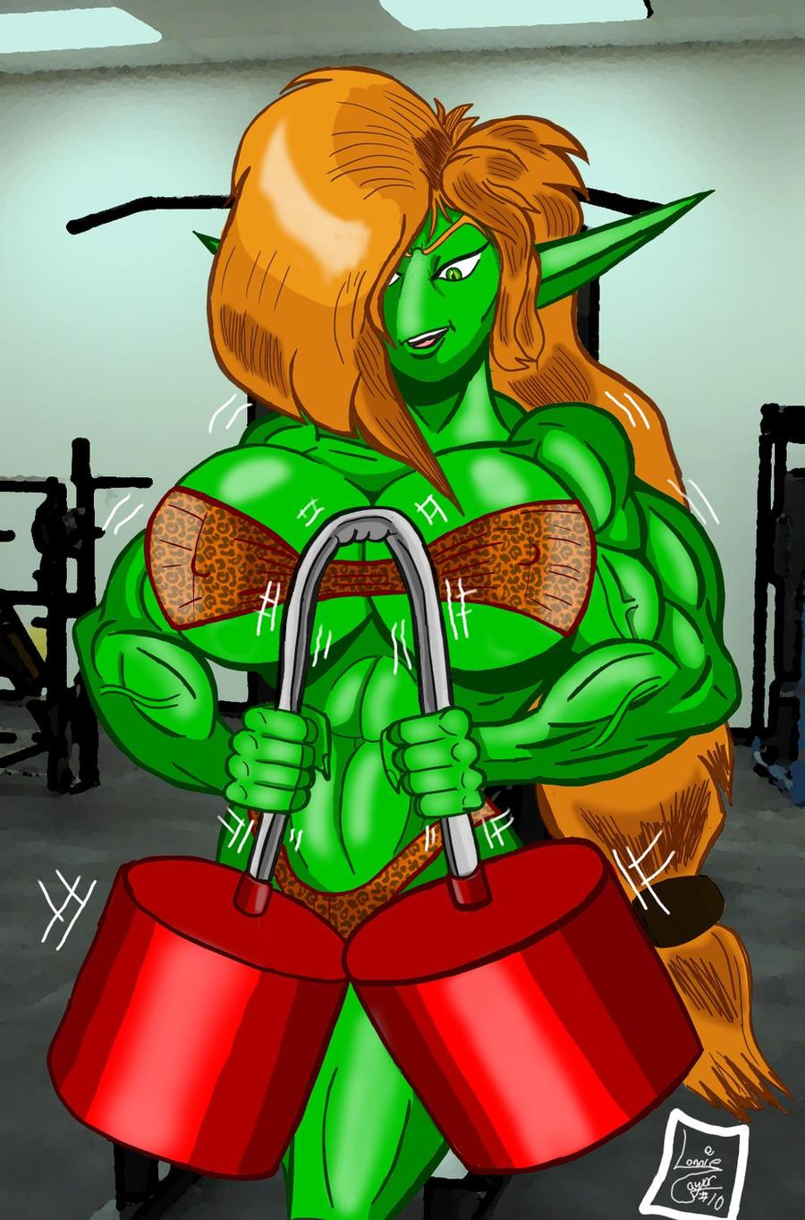 Shrapnel's Workout by Lonzo1