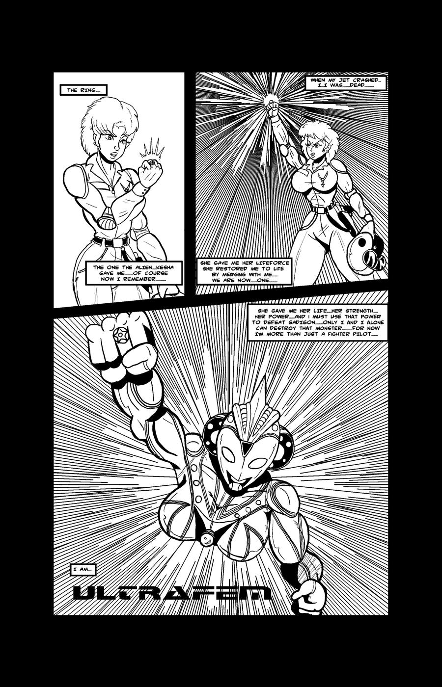 Ultrafem Test Panel Part 1-Lineart by Lonzo1