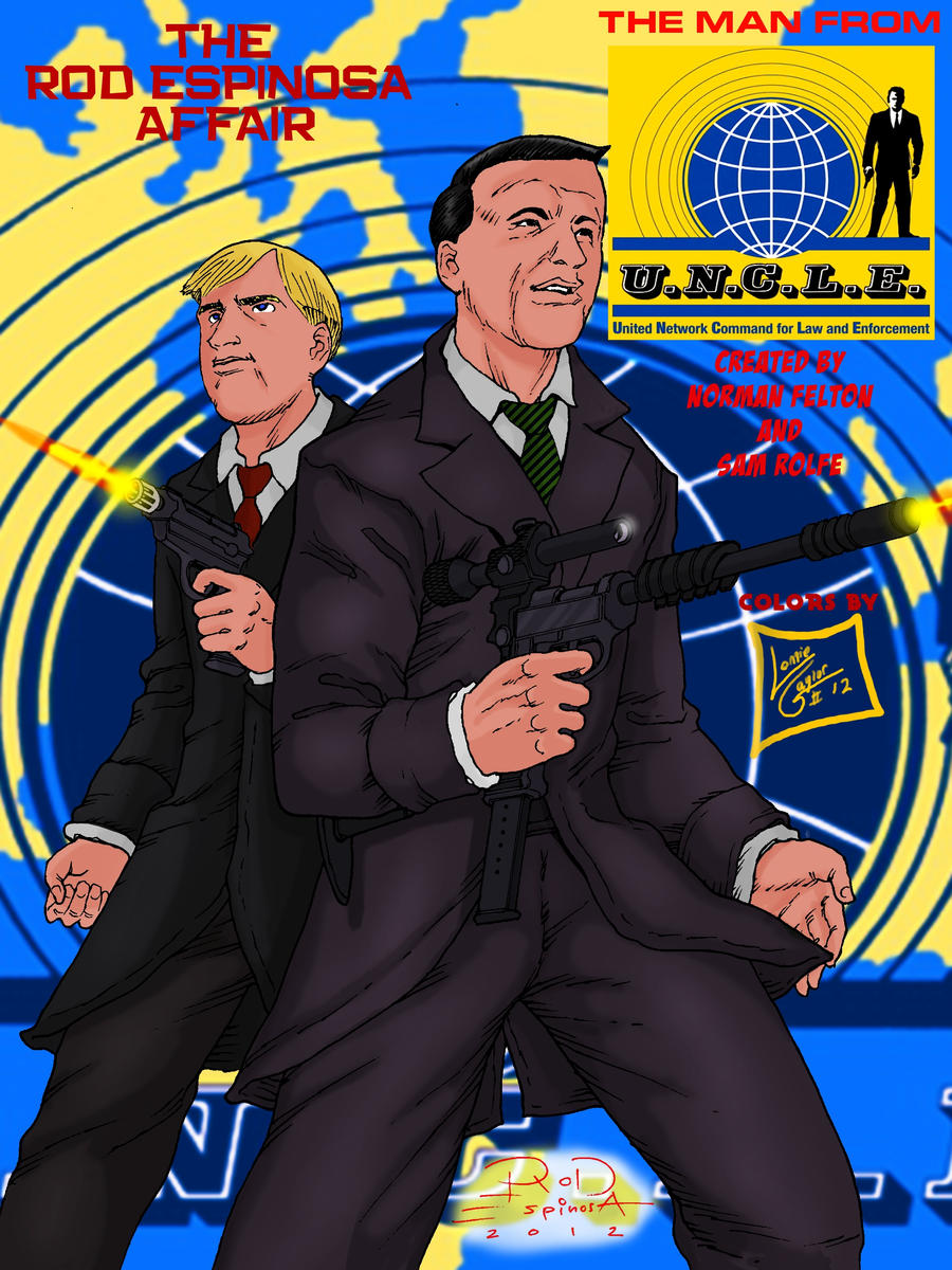 The Man From U.N.C.L.E by Rod Espinosa by Lonzo1