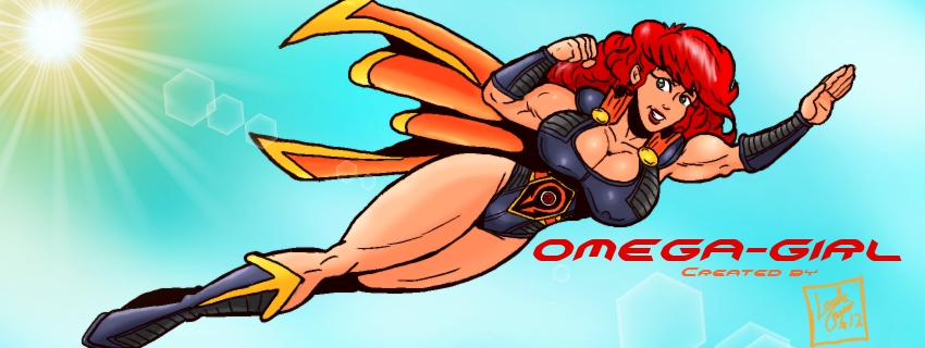 Omega-Girl Facebook Cover by Lonzo1